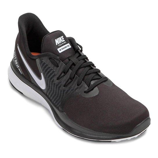 bbcc9eed08054 Tênis Nike In-Season Tr 8 Feminino - Preto e Branco - Compre Agora ...