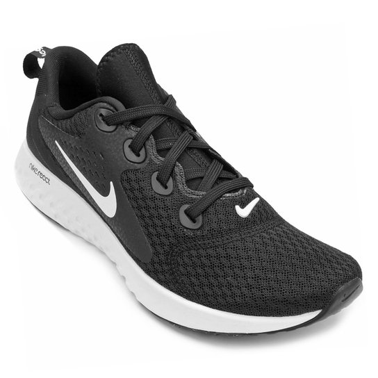cb35df025246e Tênis Nike Legend React Feminino - Preto e Branco - Compre Agora ...