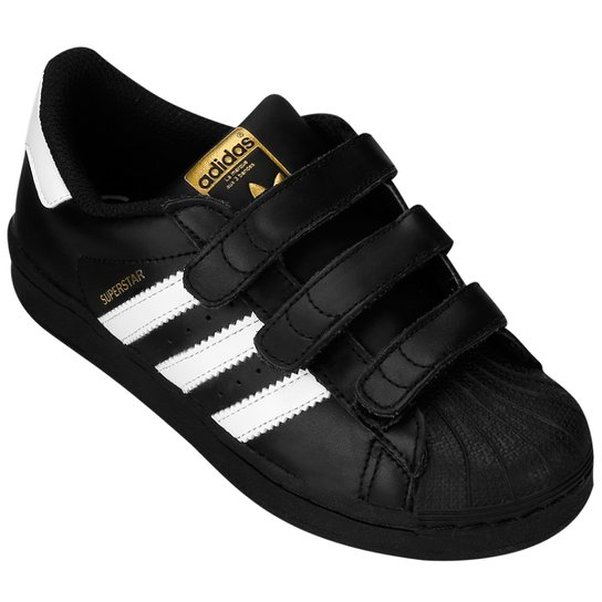 f9fdb635eb9 Tênis Adidas Star Foundation CF Infantil - Compre Agora