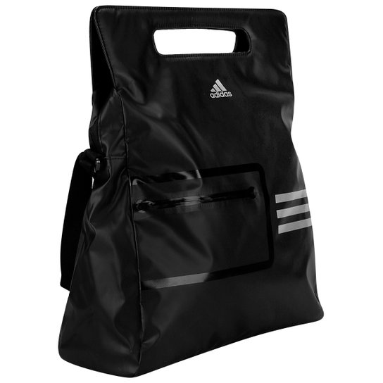 eacc54716 Bolsa Adidas Shoulder Training - Preto+Branco