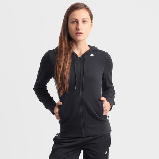 33b701c1dac Jaqueta Adidas ESS Mid 3S Feminina - Compre Agora