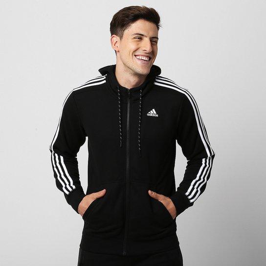 ba1a2d55070 Jaqueta Adidas ESS 3S c  Capuz - Compre Agora