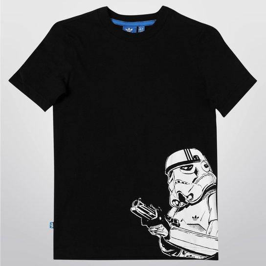 6bc236cb12652 Camiseta Adidas J Star Wars ST Infantil - Compre Agora