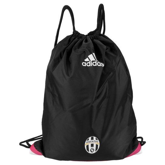 c837f579a Sacola Adidas Juventus Ginástica - Preto+Branco