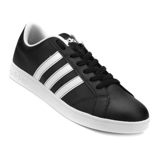457ee18e30d Tênis Adidas Advantage Vs - Preto e Branco - Compre Agora