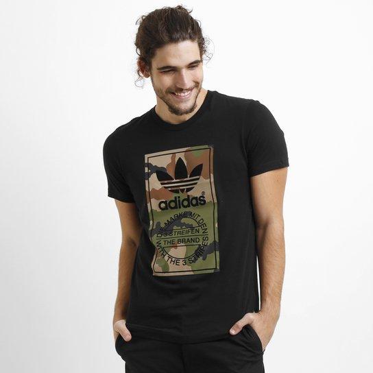 e31c0e8f593 Camiseta Adidas Label Camo - Compre Agora