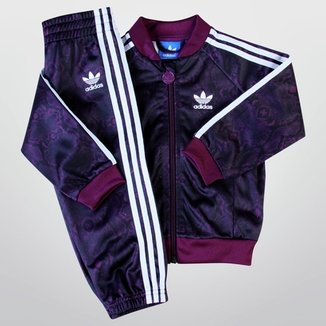 8db2ff696 Agasalho Adidas I Superstar Snake Infantil
