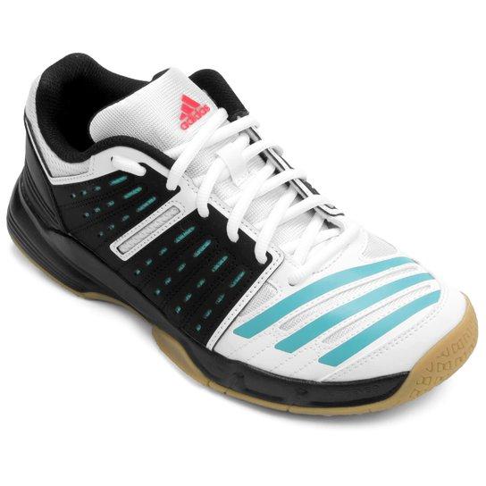 59119783bc Tênis Adidas Essence 12 - Preto+Branco