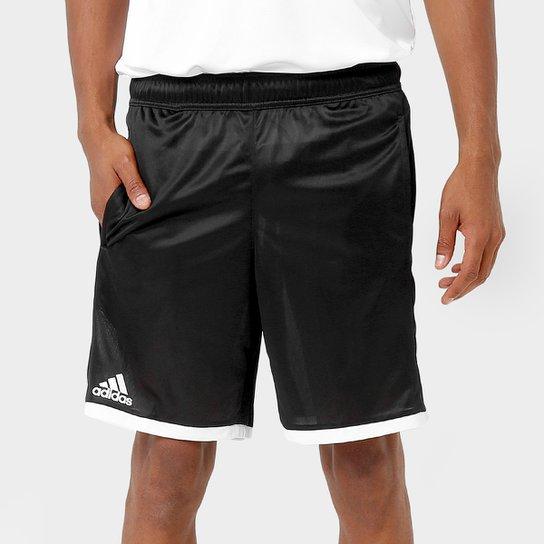 Short Adidas Court - Preto e Branco - Compre Agora  9db734aed046b
