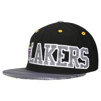 Boné Adidas NBA Flat Los Angeles Lakers bbdb5fe7ae7
