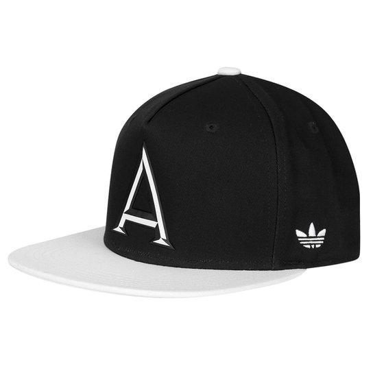 Boné Adidas Aba Reta Originals Snapback Fb B W - Compre Agora  94e495aa551