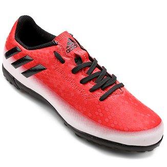 98cad629cd2c7 Chuteira Society Juvenil Adidas Messi 16.4 TF