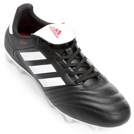 Chuteira Campo Adidas Copa 17.3 FG - Preto e Branco - Compre Agora ... a4e91599c7556