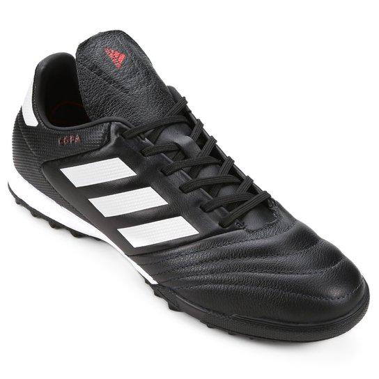 4b75ee4544 Chuteira Society Adidas Copa 17.3 TF - Preto e Branco
