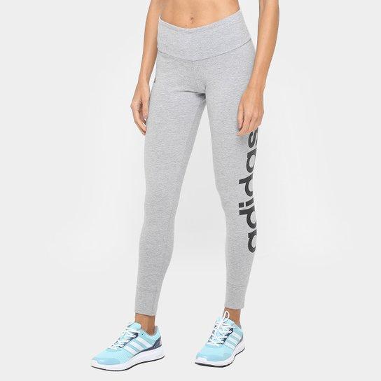 Calça Legging Adidas Essential Lineartight Feminina - Compre Agora ... c31157248f4b6
