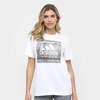 Camiseta Adidas Category Athetics Feminina f5e09b028d1