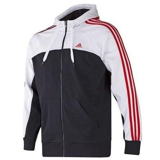 08ef486eb3721 Jaqueta Adidas FZ Hood 3s 3ss - Compre Agora