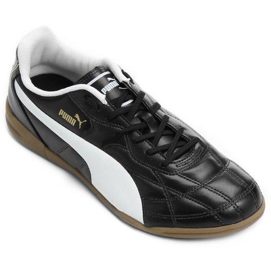 3e4e47412b6 Chuteira Futsal Puma Classico IT - Preto e Branco - Compre Agora ...