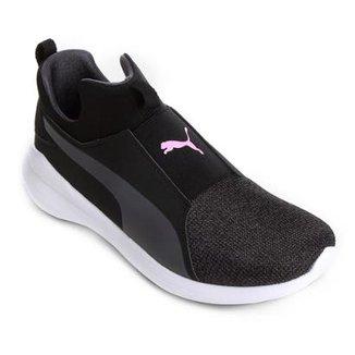 Tênis Puma Rebel Mid Wns Knit Feminino 014c1ba6cd1ad