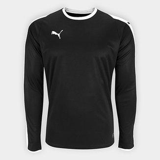 Camiseta Puma Liga Jersey Manga Longa Masculina 10d2429ab4c