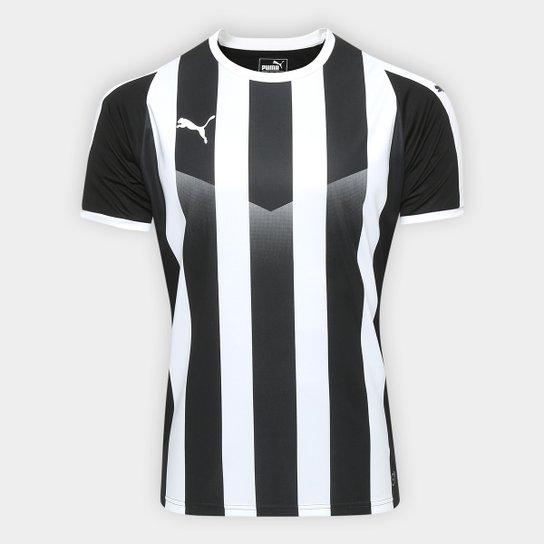 Camisa Puma Liga Jersey Striped Masculina - Compre Agora  5c2b4a594e897