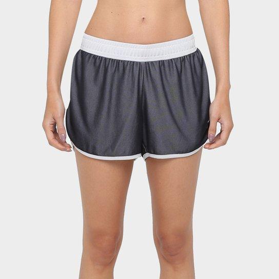 Short Mizuno Cooper 2 Feminino - Preto e Branco - Compre Agora ... f3d879ace6eca