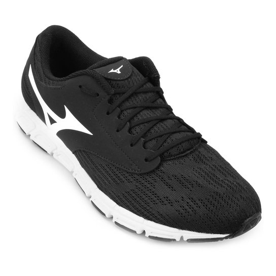 b028dc41f9 Tênis Mizuno EZ Flex Masculino - Preto e Branco | Netshoes