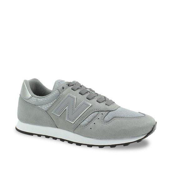 ba4d5015884 Tênis New Balance W 373 Feminino - Cinza e Branco - Compre Agora ...
