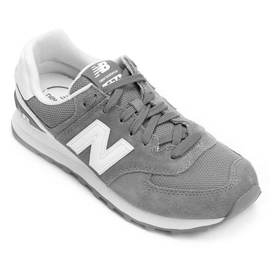 2cb9232b1b6 Tênis Couro New Balance 574 Cny - Hi Viz Masculino - Compre Agora ...