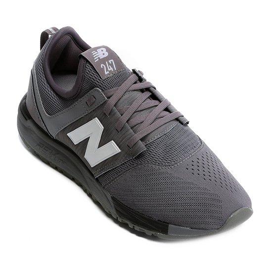Tênis New Balance 247 Classic Masculino - Cinza e Branco - Compre ... 1b5137bdca6