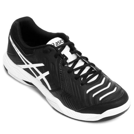 Tênis Asics Gel Game 6 Masculino - Preto e Branco - Compre Agora ... 6090d02511d36