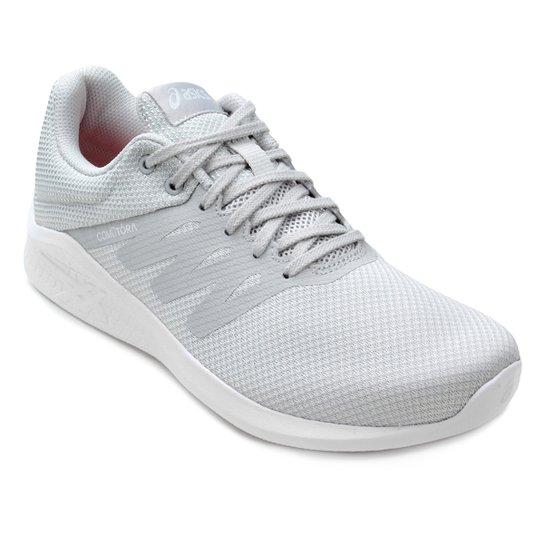 6755622a4c Tênis Asics Comutora Feminino - Cinza e Branco - Compre Agora