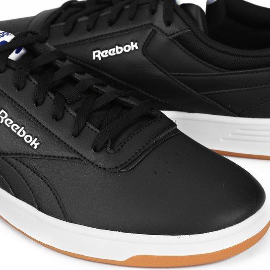 2c8d7235052 Tênis Reebok Royal Slam Masculino - Preto+Branco ...