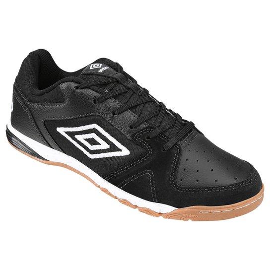 52c58dc5160 Chuteira Umbro Pro 3 Futsal - Preto e Branco - Compre Agora