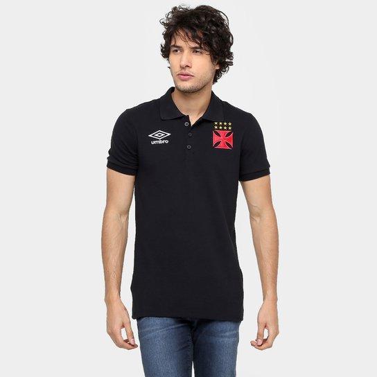 6afe716fcd Camisa Polo Vasco Umbro Viagem 2016 Masculina - Compre Agora
