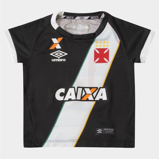 7852e2a3cf Camisa Umbro Vasco I 16 17 nº 10 Infantil - Compre Agora