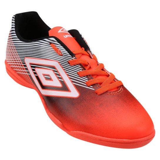 Chuteira Futsal Umbro Slice 3 Masculina - Laranja e Preto - Compre ... 61422939fd625