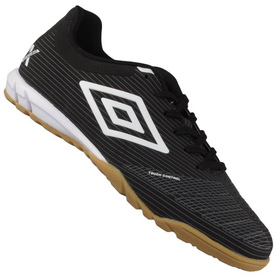 03ba378ae2 Tênis Umbro Indoor Accuro Club Futsal - Preto+Branco