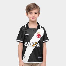 Camiseta Infantil Vasco São Januário 90 Anos - Compre Agora  d042e1a18c756