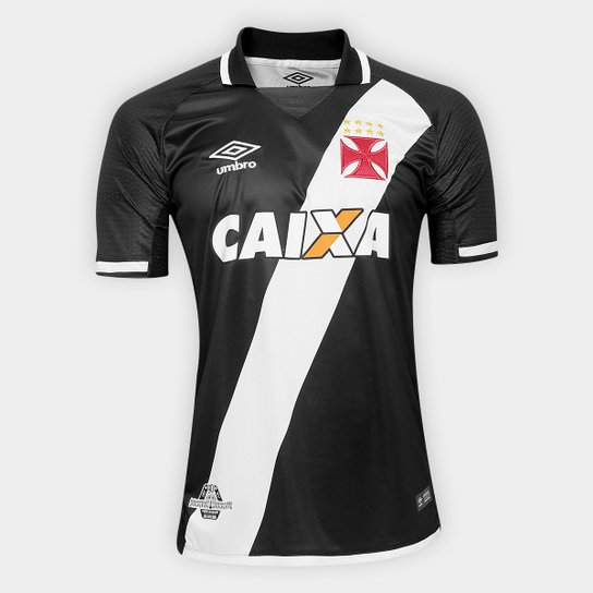 02b3ab6fd3648 Camisa Vasco I 17 18 s n° Torcedor Umbro Masculina - Compre Agora ...
