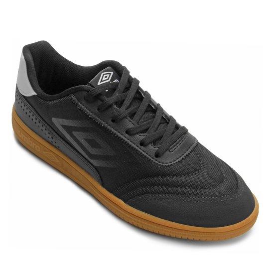 9a4ed33a43 Chuteira Futsal Umbro Fiber - Preto e Branco - Compre Agora