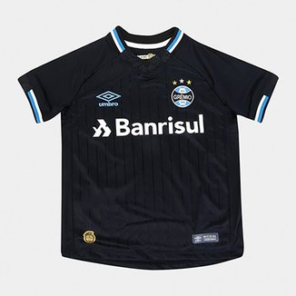 03198c5e0c Camisa Grêmio III 2018 s n° Torcedor Umbro Infantil