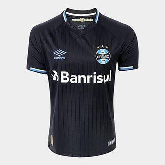 Camisa Grêmio III 2018 s n° Torcedor Umbro Masculina 805c6354046a0
