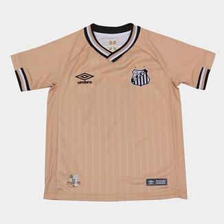 Camisa Santos Juvenil III 2018 s n° - Torcedor Umbro 0c1c80978653c