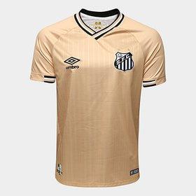 845d3b9d1f LANÇAMENTO. (8). Camisa Santos III 2018 s n° - Torcedor Umbro Masculina ·  R  249