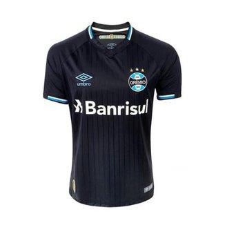 3dbfbadecb Camisa Umbro Masculina Grêmio Oficial 3 2018 C Nº 10