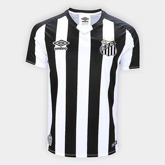 Camisa Santos II 2019 s n° Jogador Umbro Masculina 270e5d96563