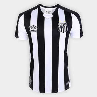 a1c8a18a763ba Camisa Santos II 2019 s n° Torcedor Umbro Masculina