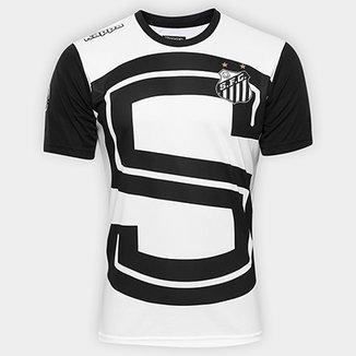 475fe50871fab Camisa de Treino Santos Aquecimento I 17 18 s nº Kappa Masculina