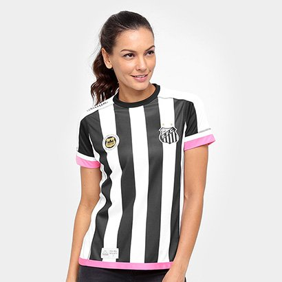Camisa Santos II 17 18 Torcedor Kappa Feminina ac72746b1cb58